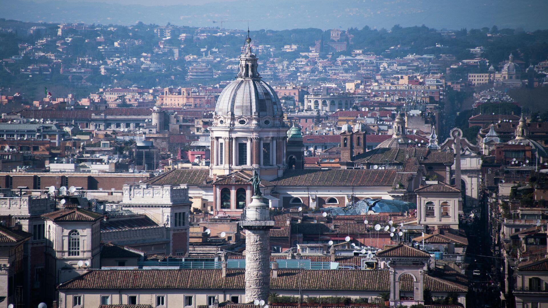 Вид города Рима - РИА Новости, 1920, 12.04.2021