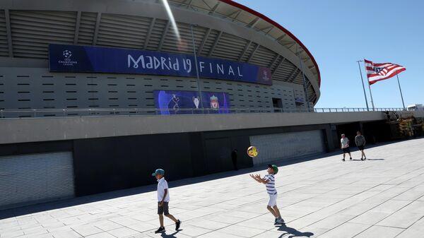 Жить спортом: болельщики заполонили Мадрид в преддверии Лиги чемпионов