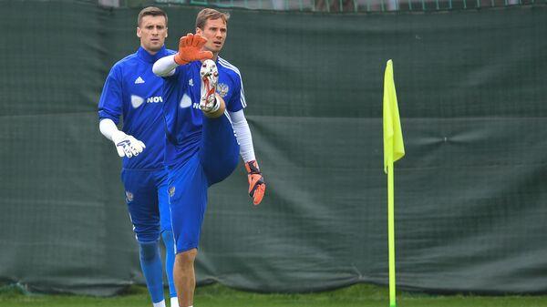 Сергей Песьяков (слева) и Антон Шунин