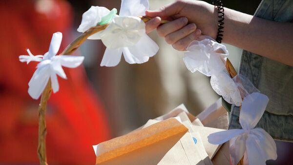Символ благотворительной акции Белый цветок Санкт-Петербургского Детского хосписа