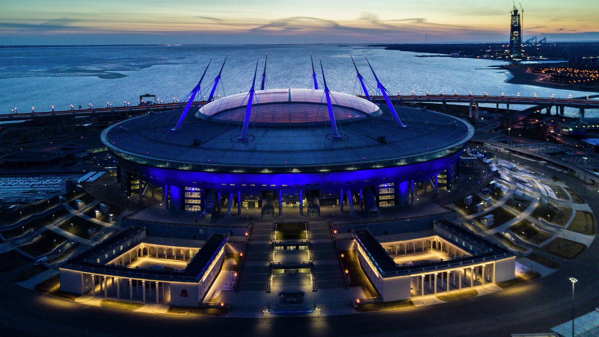 Стадион Санкт-Петербург Арена - РИА Новости, 1920, 30.04.2021