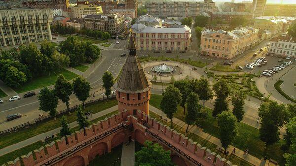 Спасская башня Тульского кремля