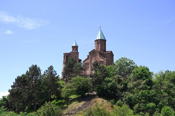Замок Греми в регионе Кахетия в Грузии