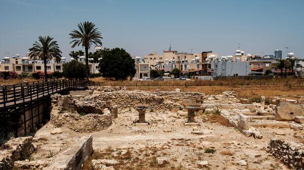 Раскопки на месте древнего города Китиона на Кипре
