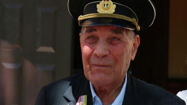 Ветеран Великой Отечественной войны Александр Лубенцов
