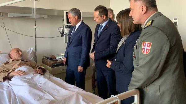 Володин навестил в госпитале Сербии сотрудника миссии ООН в Косово Краснощекова