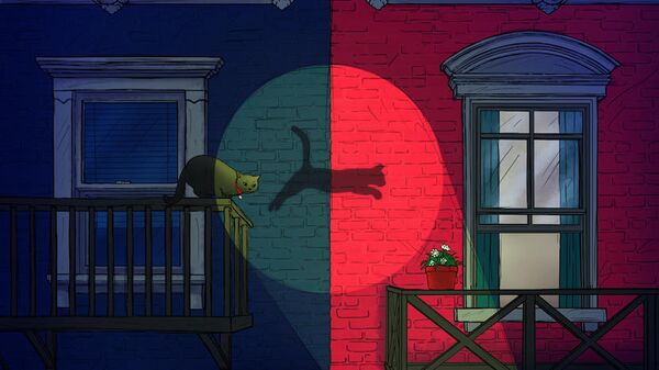 Кот Шредингера готовится совершить квантовый прыжок