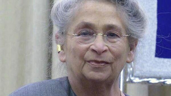 Супруга президента Израиля Реувена Ривлина Нехама Ривлин
