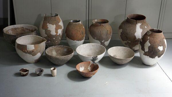 Глиняные черепки и сосуды древнекитайских пивоваров
