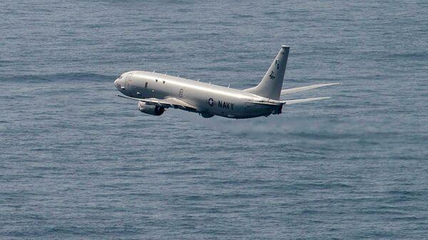 Американский самолет P-8 Poseidon