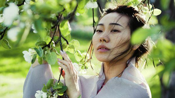 Актриса из Китая Ян Гэ