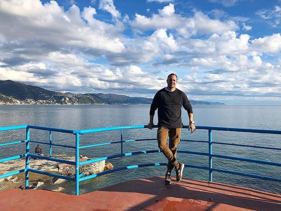 Тимур Соловьев в Италии