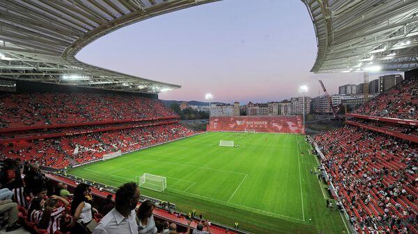 Стадион Сан-Мамес в Бильбао