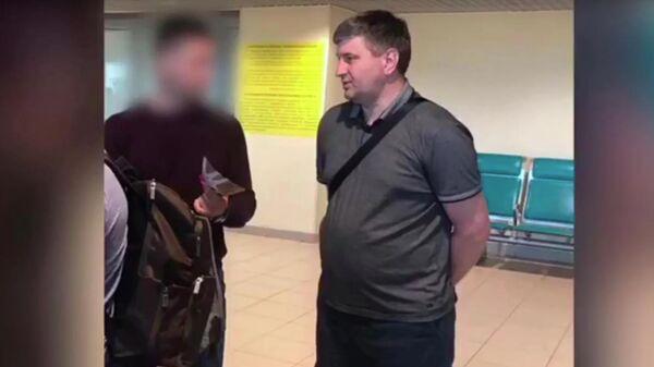 Задержание министра лесного комплекса Иркутской области Сергея Шеверды