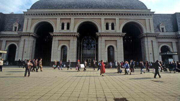 Здание Павелецкого вокзала на Павелецкой площади