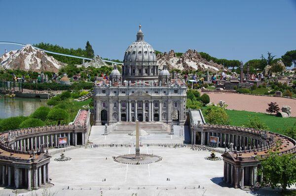 Парк Италия в миниатюре в Римини