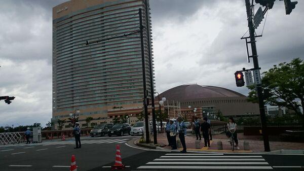 Повышенные меры безопасности в Фукуоке, Япония