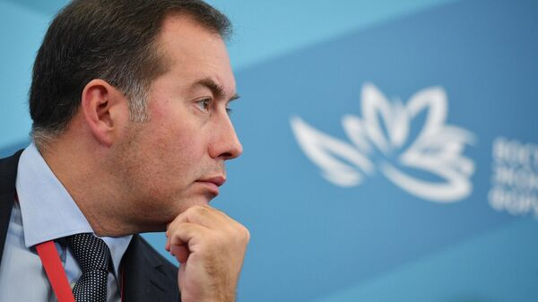 IV Восточный экономический форум. День первый. Председатель правления, член наблюдательного совета АО МСП Банк Дмитрий Голованов