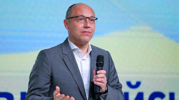 Спикер Верховной Рады Украины Андрей Парубий