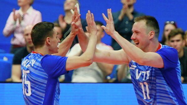 Слева направо: Виктор Полетаев и Игорь Филиппов