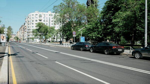 Комплекс дорожно-ремонтных работ на Большой Грузинской улице в Москве