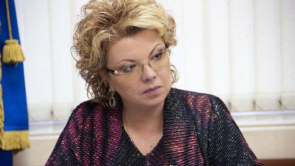 Глава комитета Госдумы по культуре Елена Ямпольская