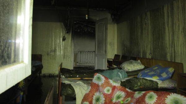 Пожар в психиатрической больнице в Одессе. 11 июня 2019