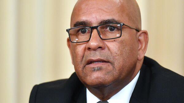 Министр иностранных дел и труда Гренады Питер Дэвид