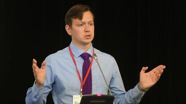 Руководитель проектов корпоративных коммуникаций МИА Россия сегодня Игорь Наймушин на второй международной конференции Информация и коммуникация в цифровую эпоху: явные и неявные воздействия