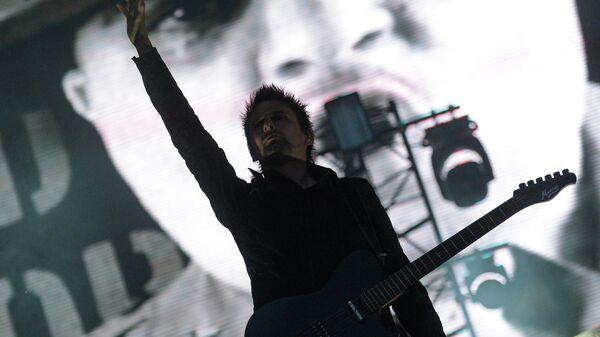 Концерт группы Muse в Москве.