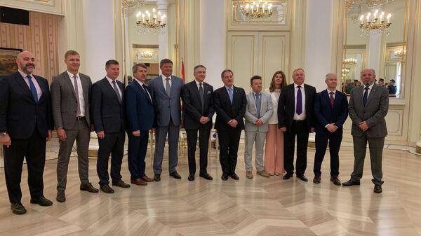 Подписание соглашения о сотрудничестве между Коломной и Асторгой в Мадриде, Испания. 11 июня 2019