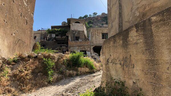 Улица на сирийских Голанских высотах