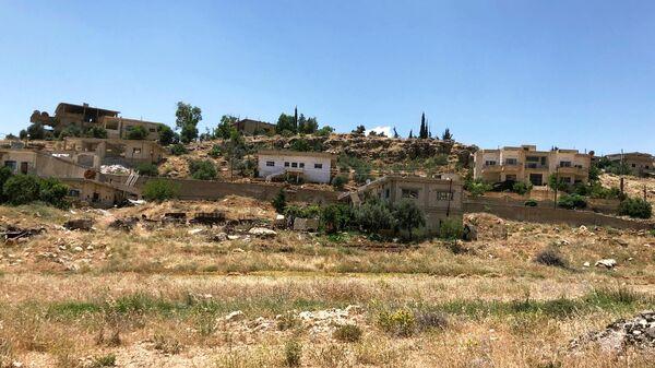 Поселение Бейт Джан. Сирийские беженцы возвращаются из Ливана в родные дома в поселении Бейт Джан на Голанских высотах.