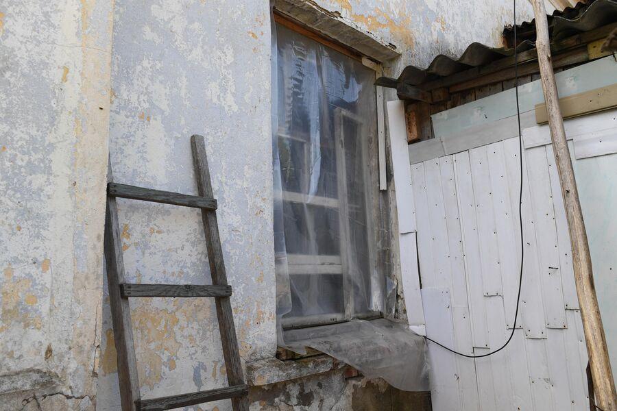 Бывшая конюшня, выделенная Марии Киреевне взамен сгоревшего дома