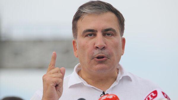 Саакашвили с опасностями инаручниками вернулся вОдессу