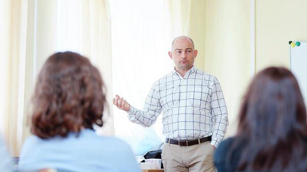 Российский молекулярный биолог Денис Ребриков