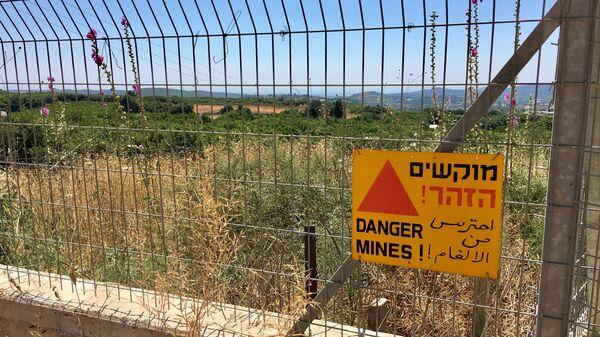 Граница Израиля с Ливаном