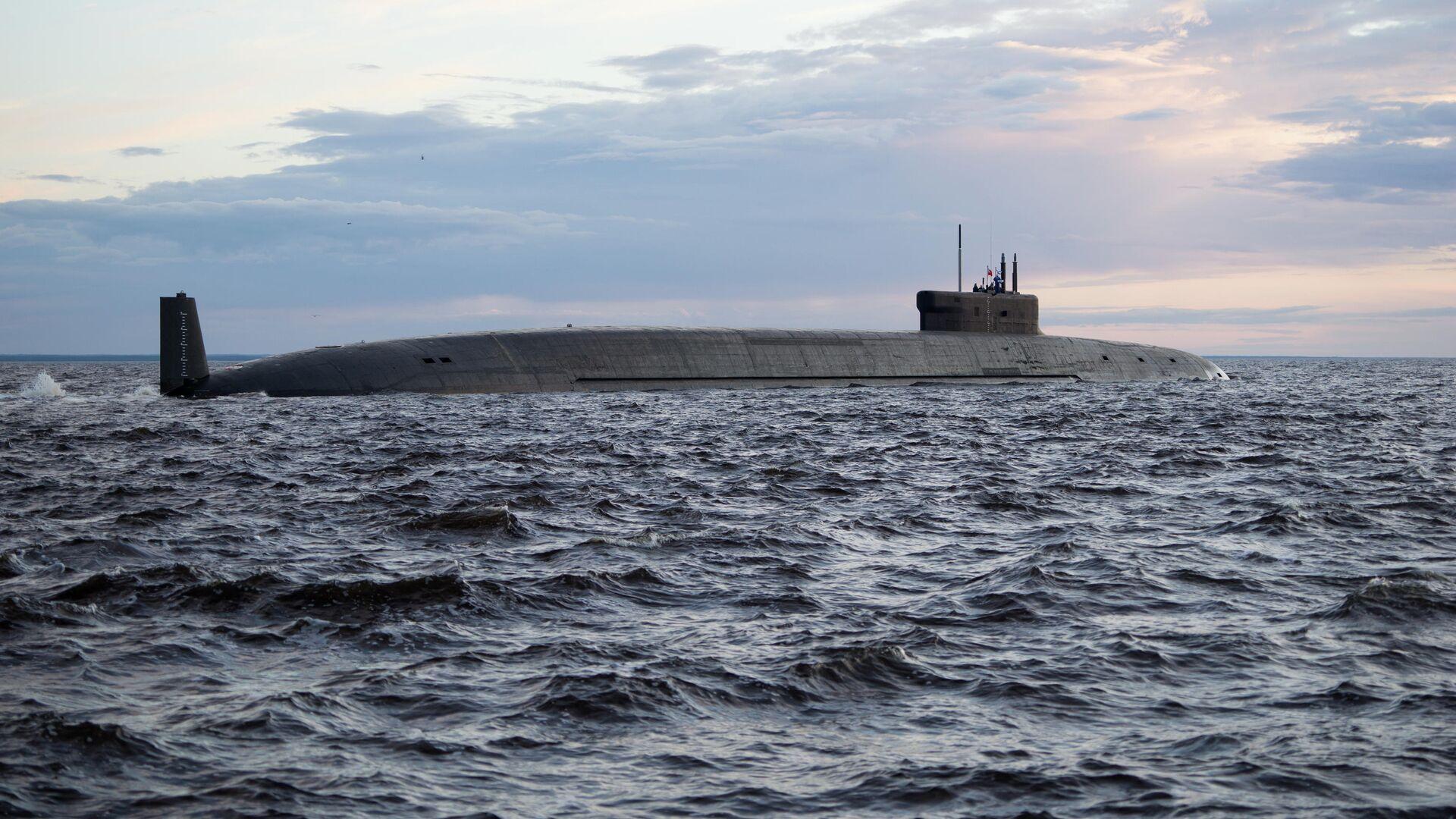 Атомная подводная лодка стратегического назначения Князь Владимир проекта 955А - РИА Новости, 1920, 17.05.2021