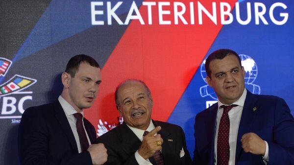 П/к с участниками второго Международного боксерского форума