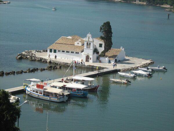 Влахернский монастырь на острове Корфу