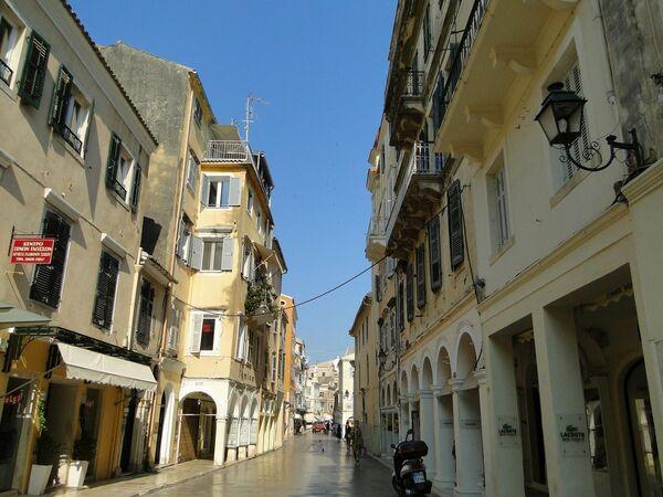 Исторический центр на Корфу