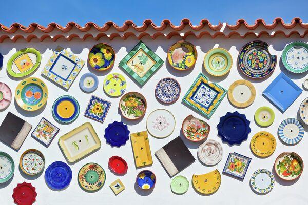 Традиционная португальская керамика – тарелки