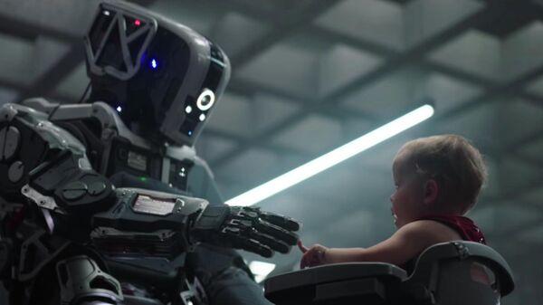 Кадр из фильма Дитя робота