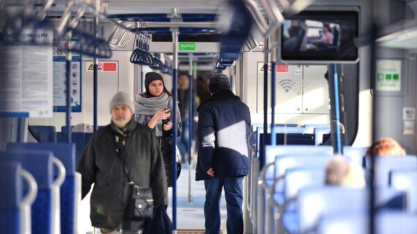 Поезда  нового поколения Иволга запустили с Белорусского вокзала