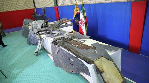 Обломки американского беспилотника в Тегеране. 21 июня 2019