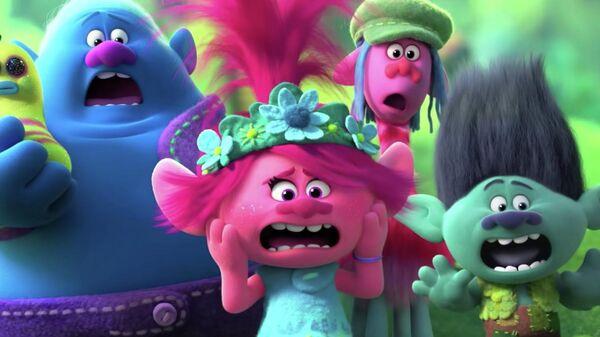 Кадр из мультфильма Тролли 2
