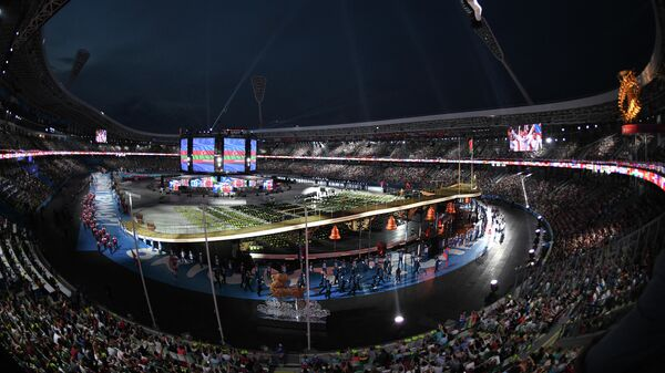 Открытие вторых Европейских игр в Минске