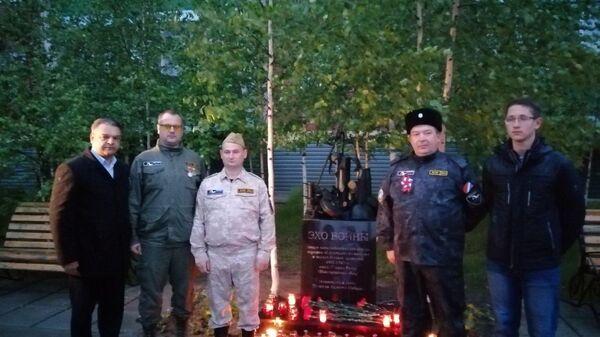"""В поселке Ханымей ЯНАО установили мемориал """"Эхо войны"""""""
