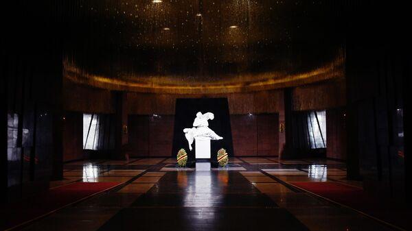 Зал памяти и скорби в музее Победы в Москве