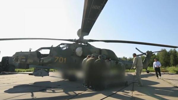 Опубликованы кадры первого применения новейшей ракеты для вертолета Ми-28НМ